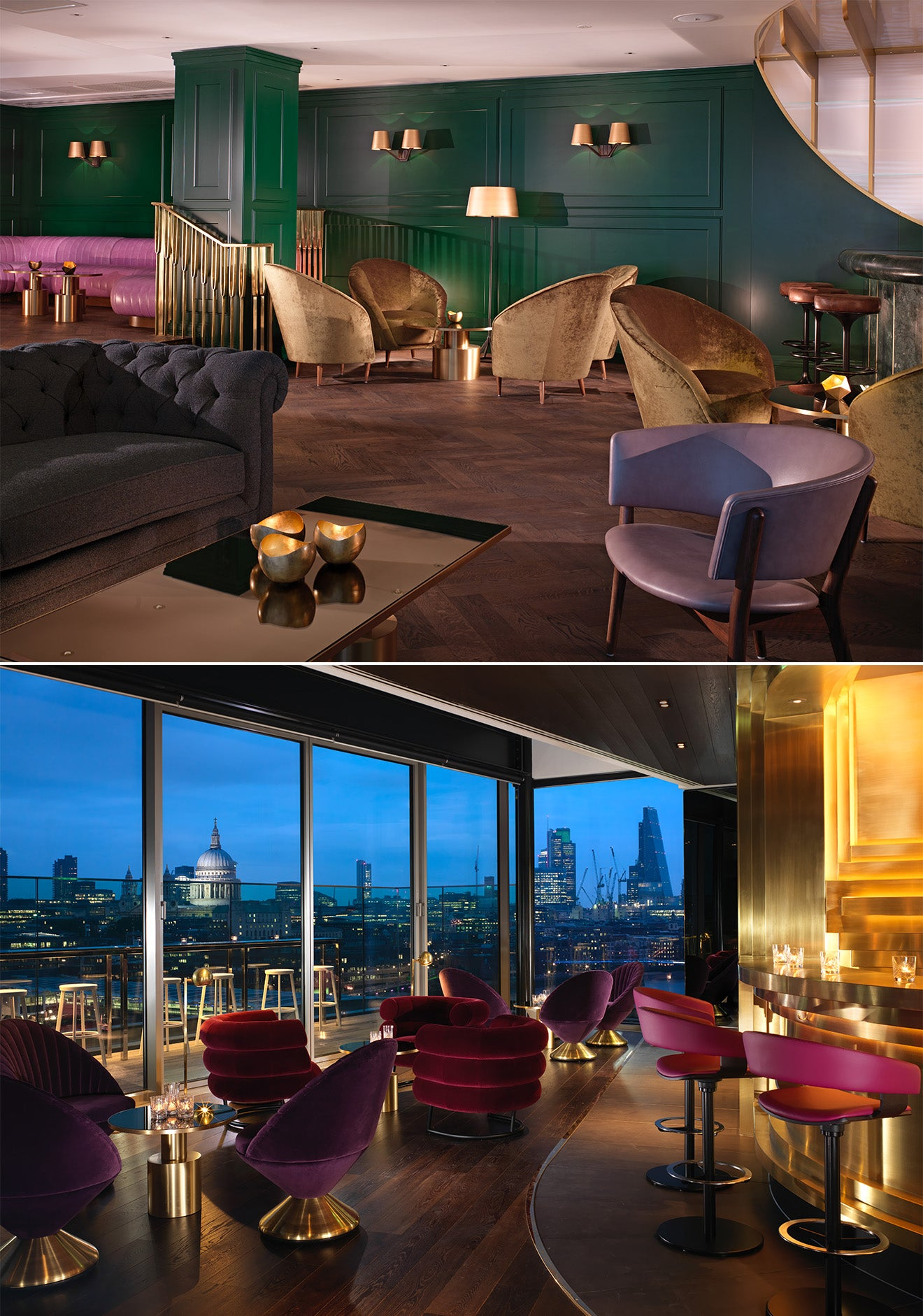 Dandelyan and Rumpus Room at the Mondrian London, Sea Containers House