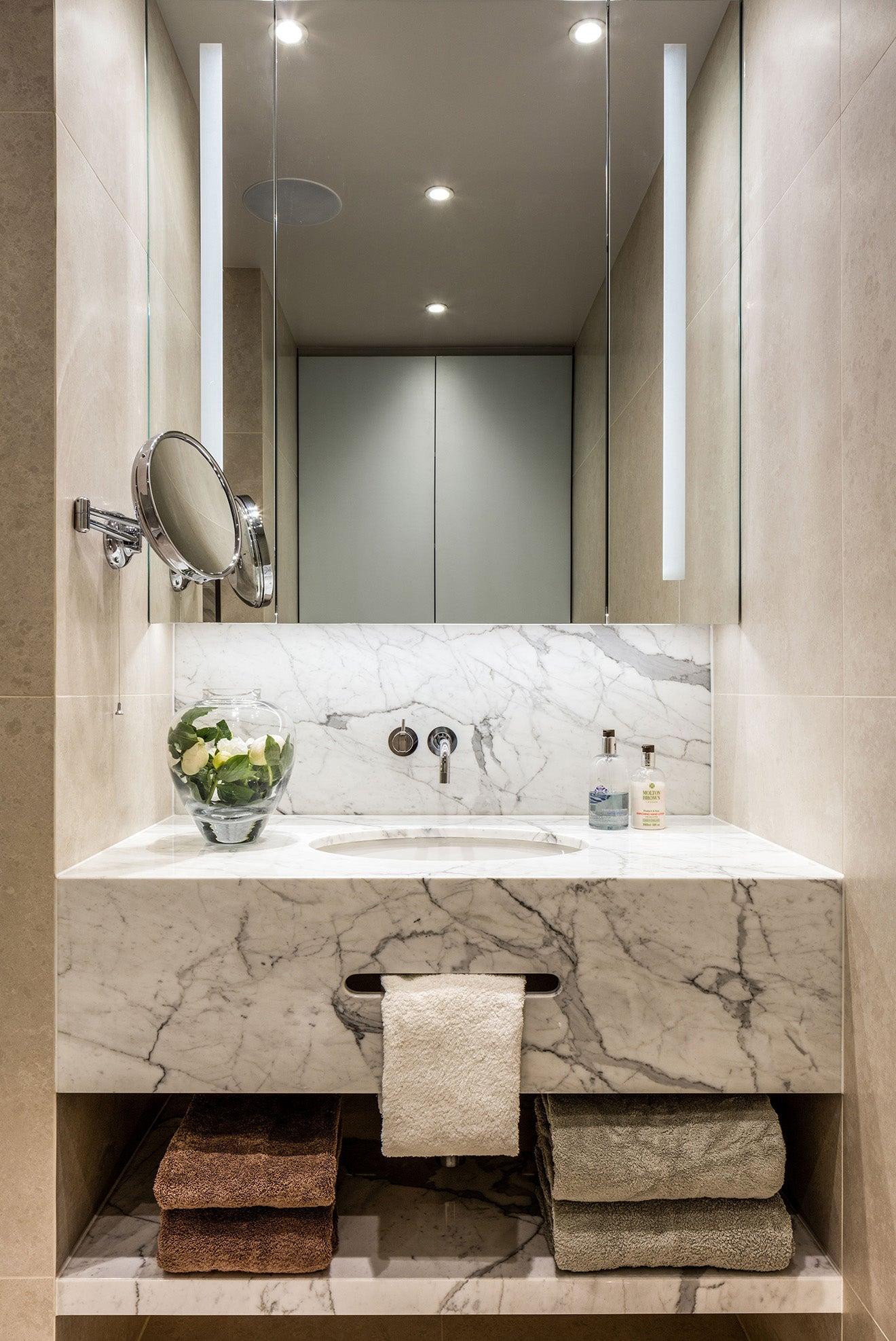 Studio Hopwood luxury marble bathroom