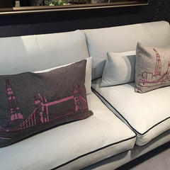 Linley sofa featured at Decorex London
