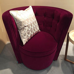 Red LINLEY armchair