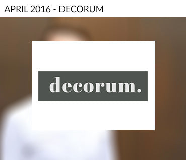Decorum Media Interviews Martyn White Designs