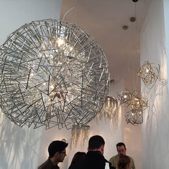 Lighting displays at Decorex