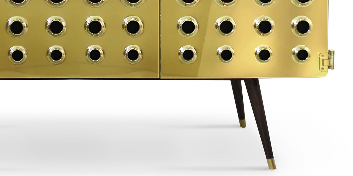 Delightfull Monocles Gold 007 Sideboard