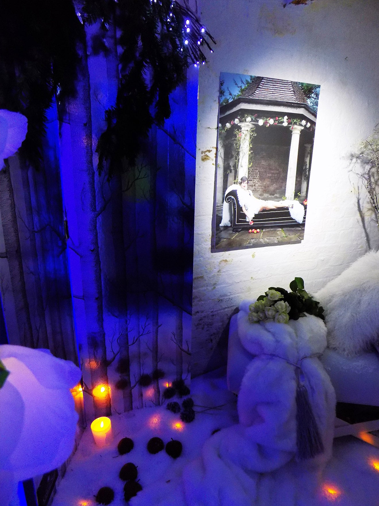Fairytale styled rooms for the launch of Designed Magazine