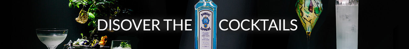 The Bombay Sapphire cocktails