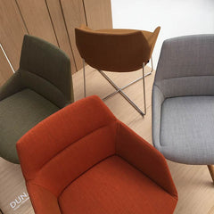 Modern Dunas chairs from inclass and Christophe Pillet