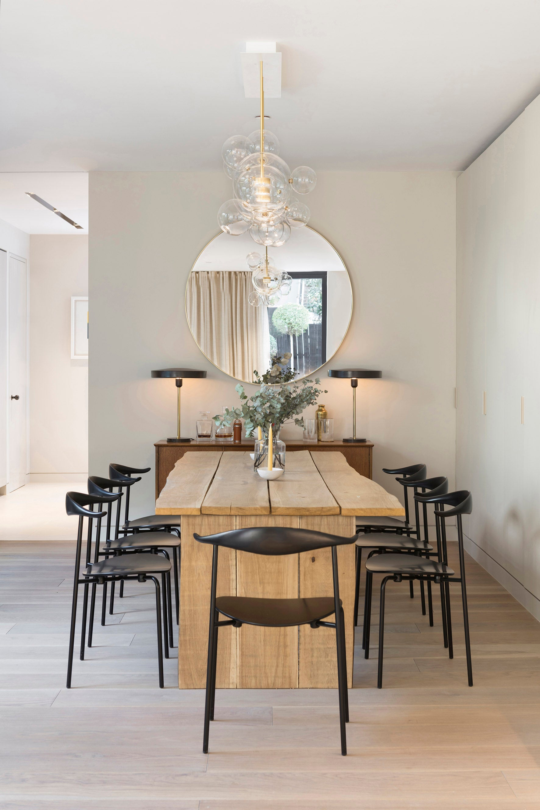 Echlin Studio Leverton House Luxury Residence Dining Room