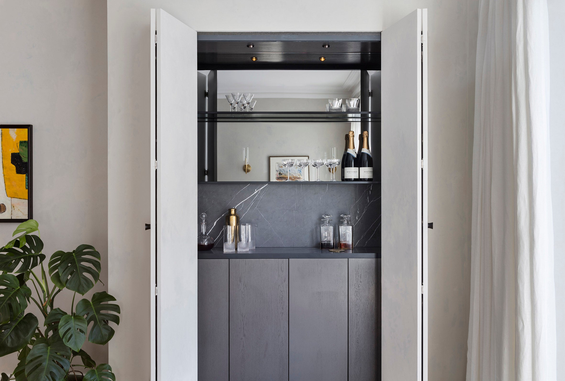 Echlin Studio Leverton House Luxury Residence Home Bar