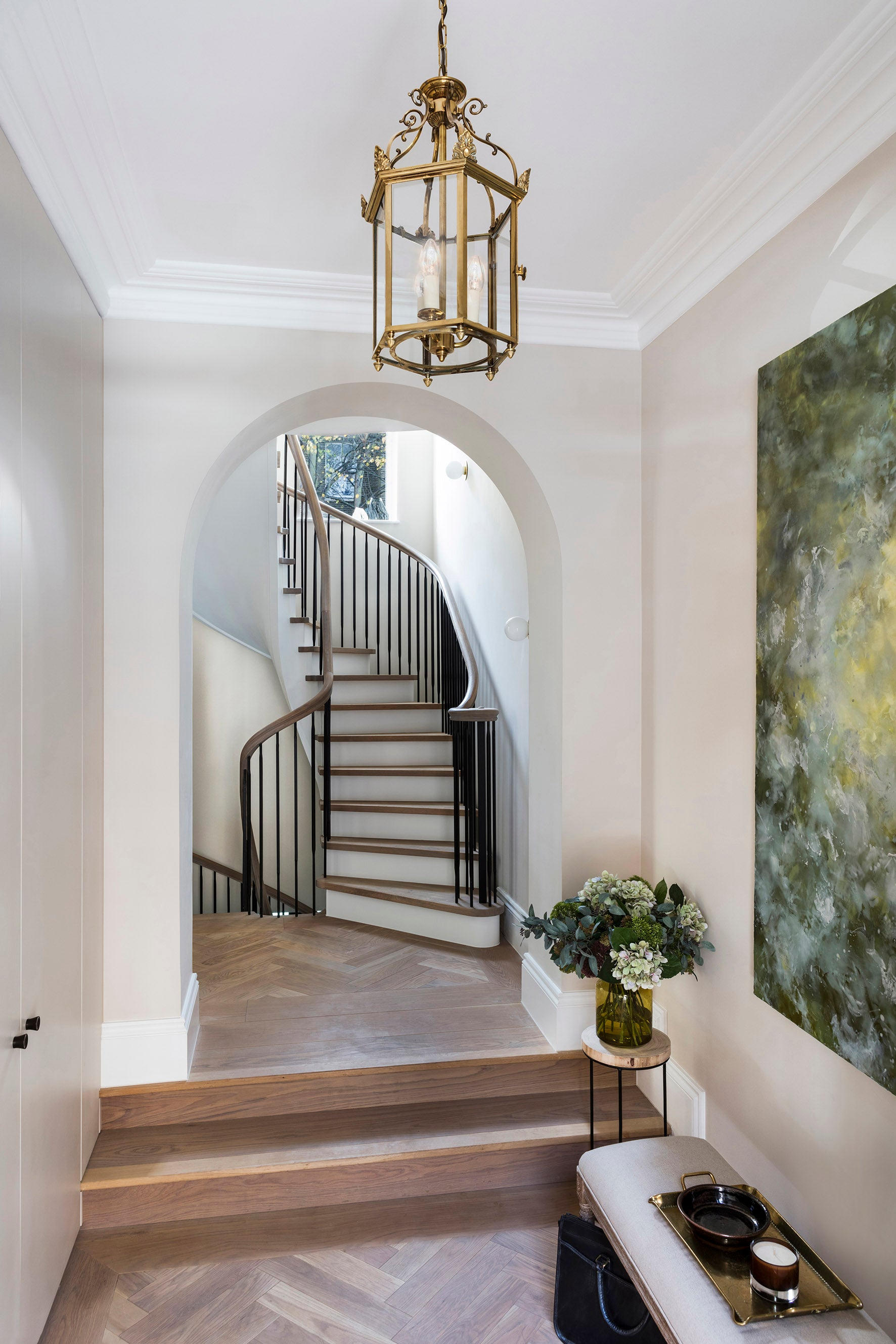 Echlin Studio Leverton House Luxury Residence Staircase
