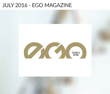 Ego Magazine July Martyn White Designs Feature
