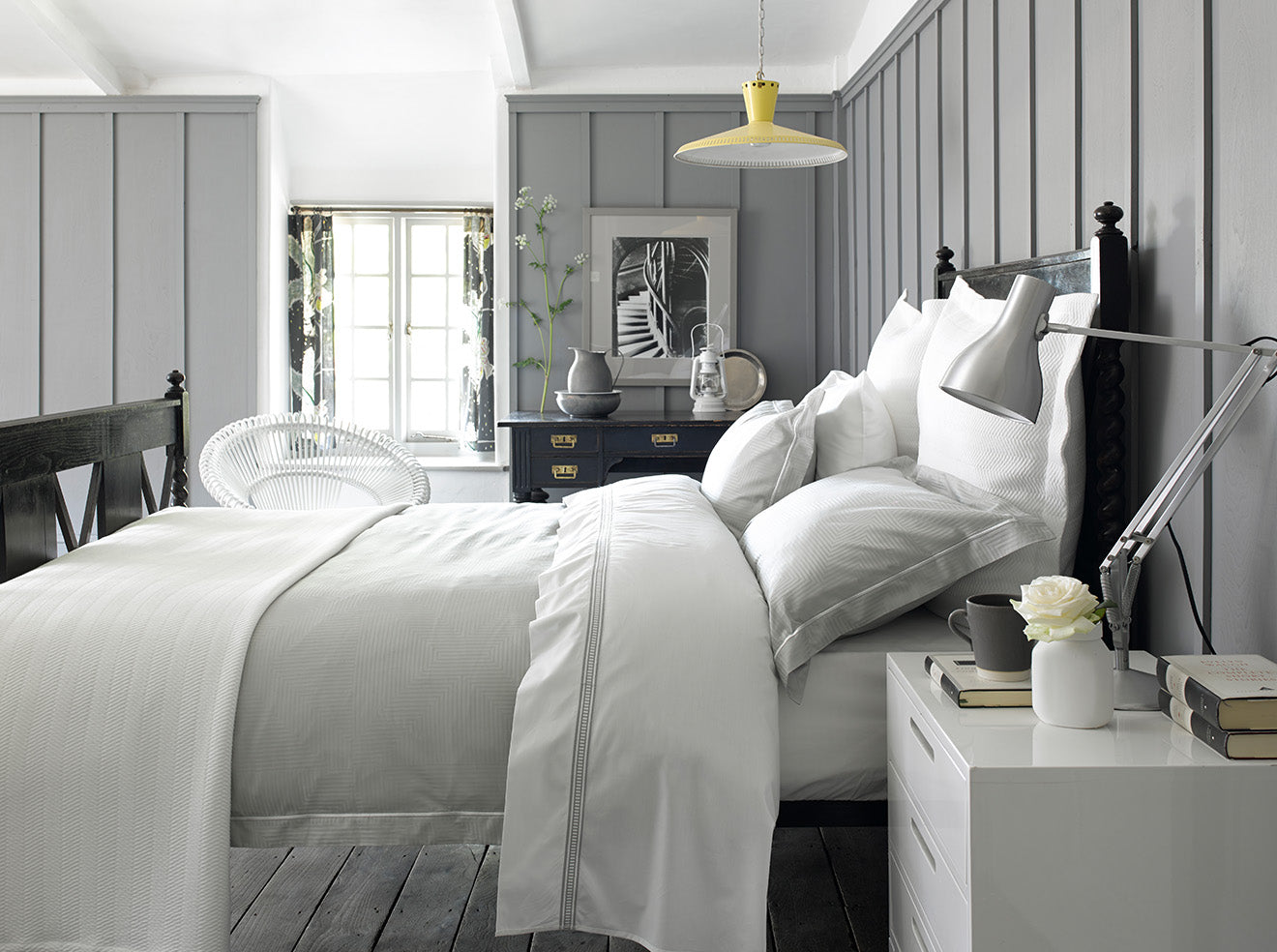 Selecting the perfect bedding Enigma Silver Christy