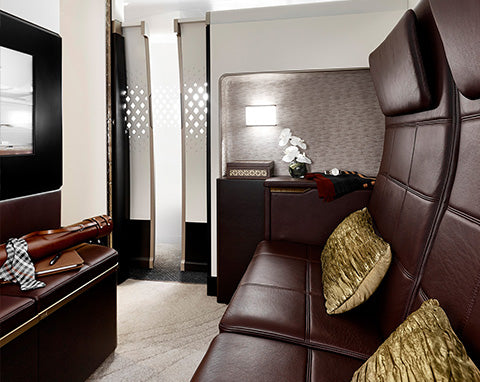 Etihad three-room suite living space, the Residence