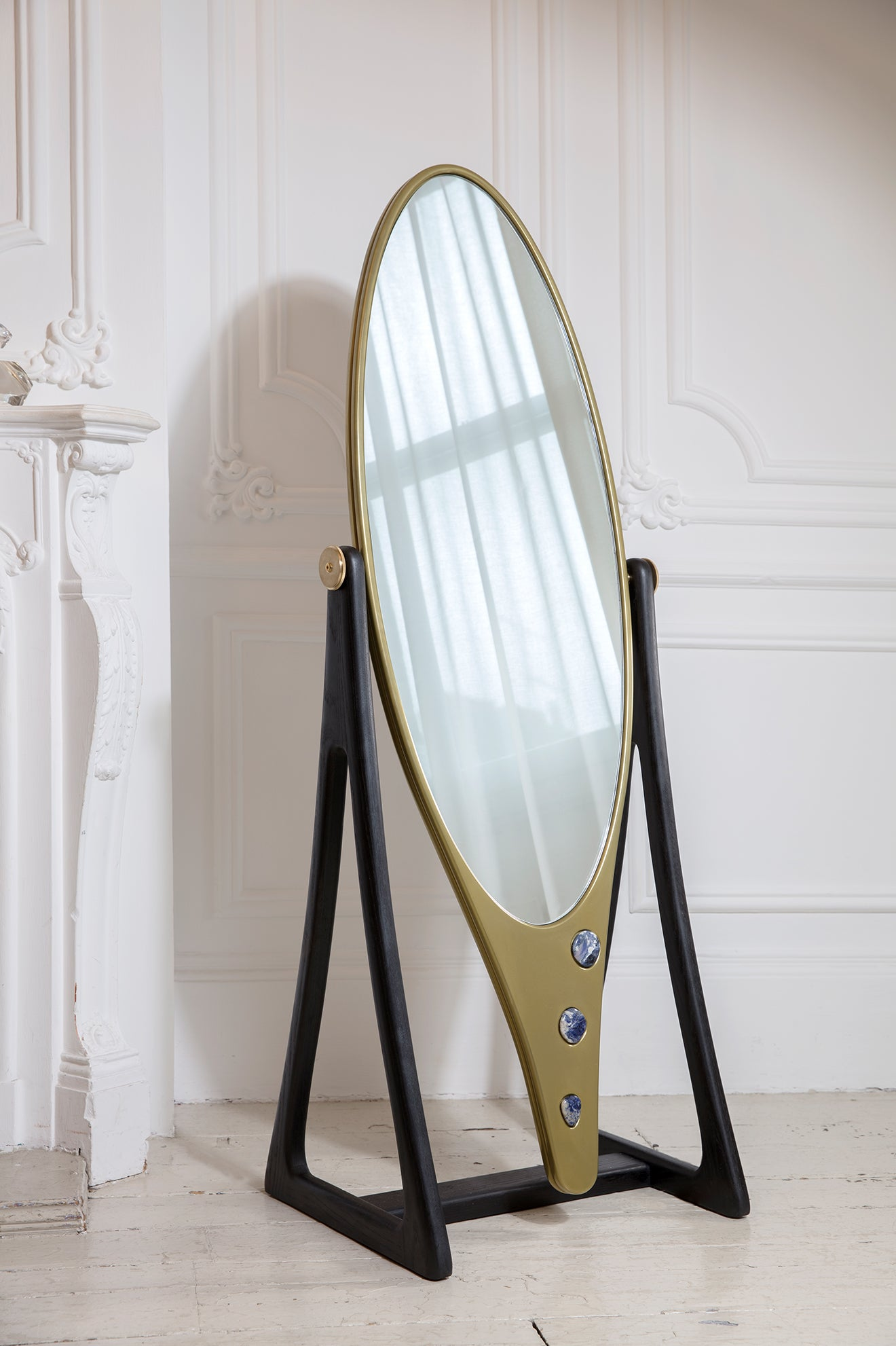 Felice James furniture collaboration Floor Mirror