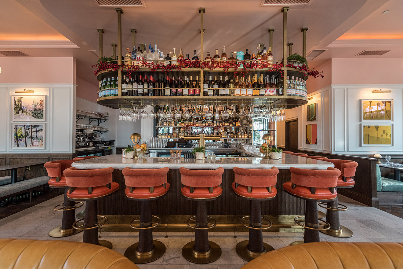 Fettle designs the interiors for the Draycott Brasserie in LA's Sunset Boulevard