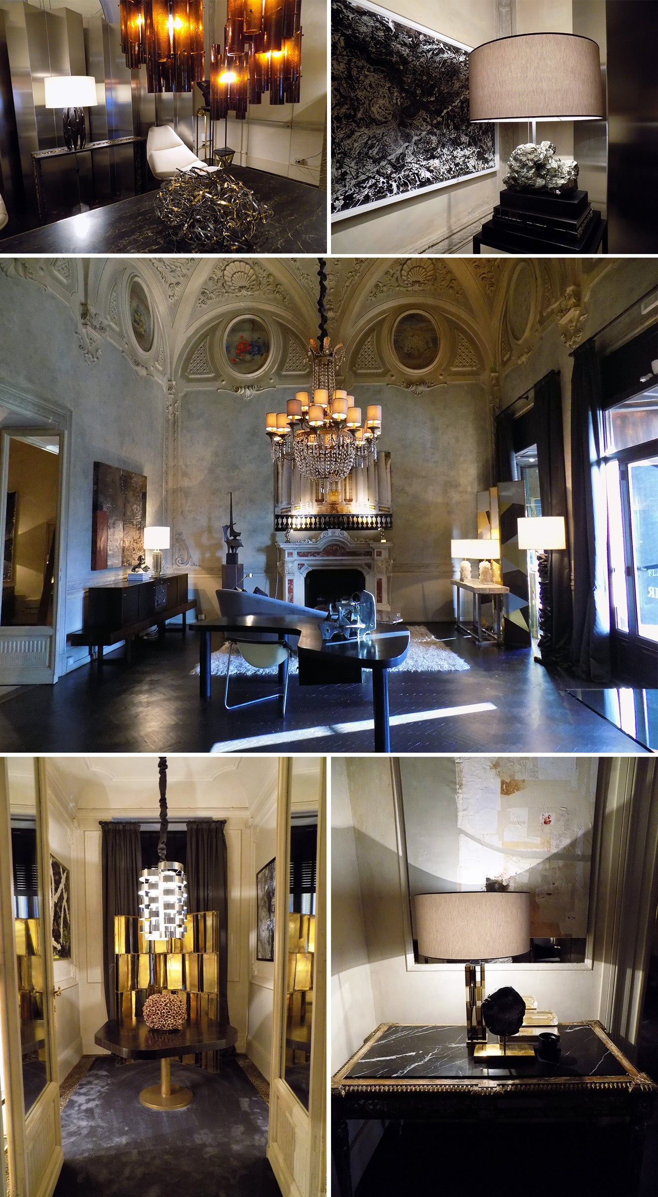 Luxury furniture store in Florence Italy called Flair