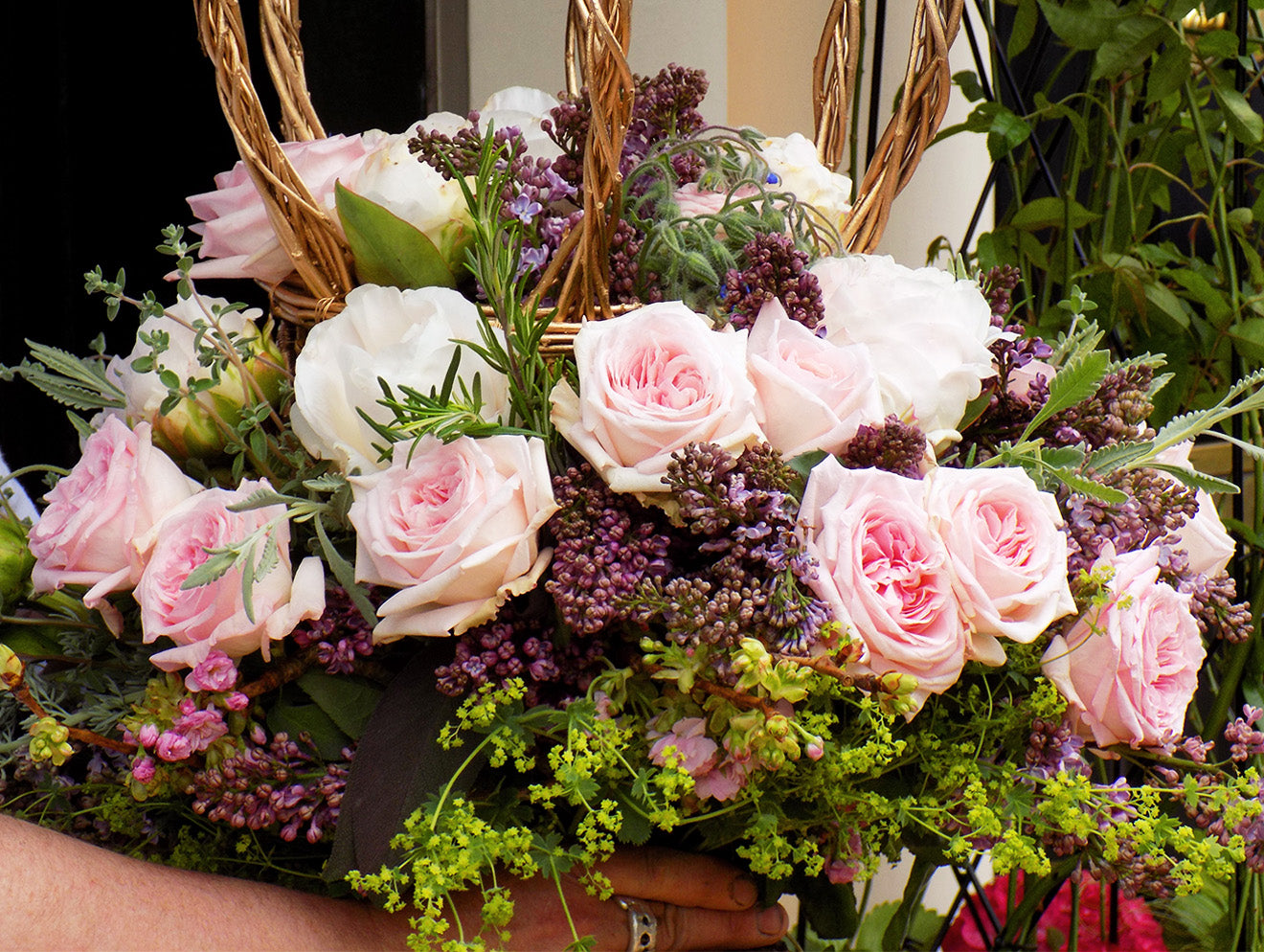 Luxurious floral display and demonstration