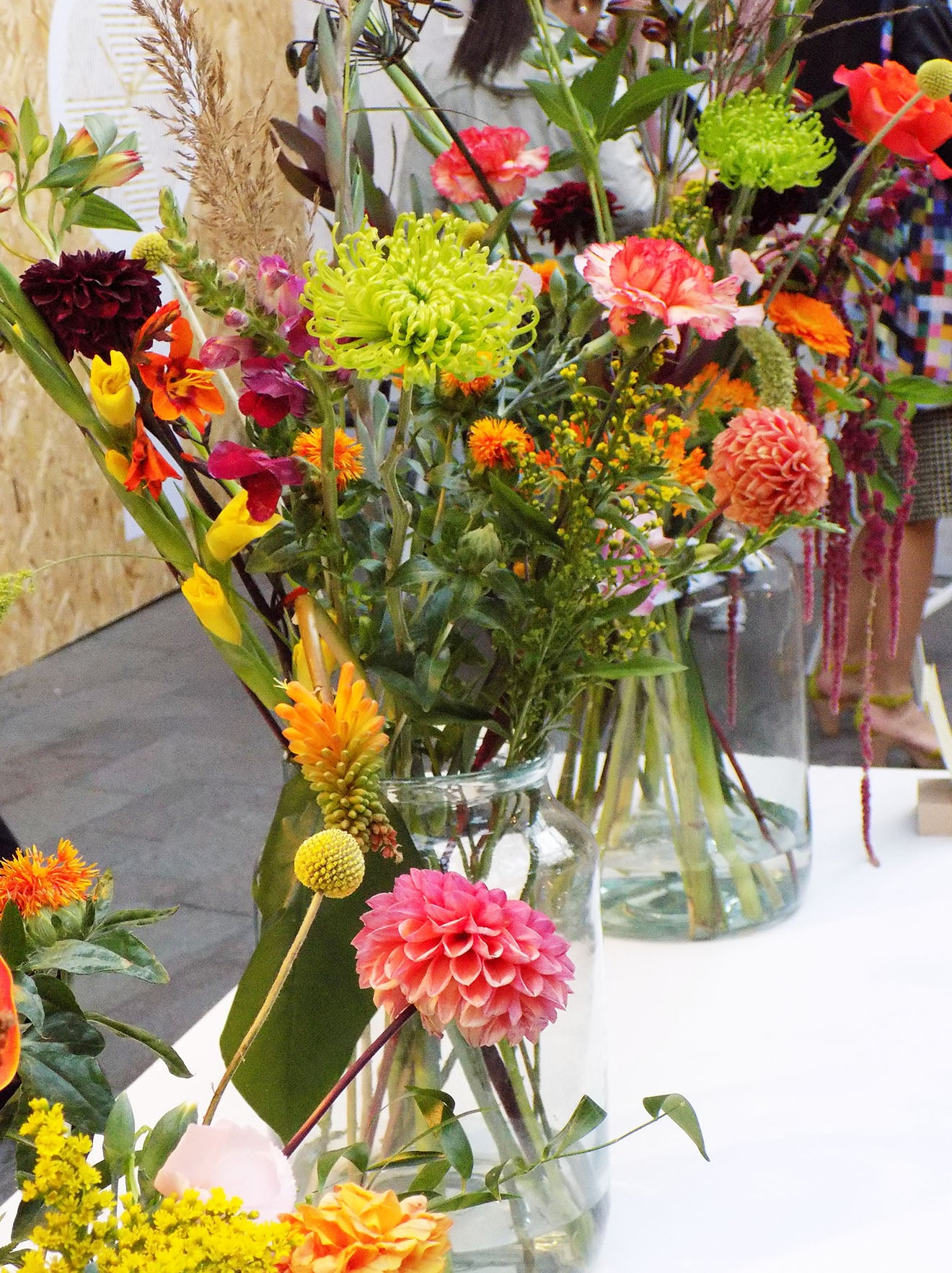 beautiful floral display ideas Bloomon at designjunction