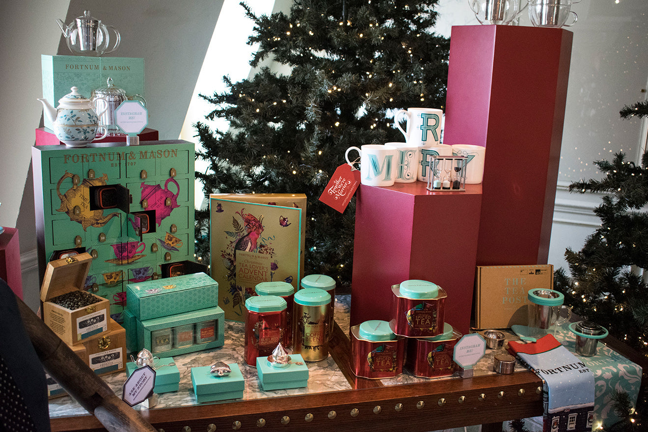 Fortnum and Mason Christmas Hampers and food