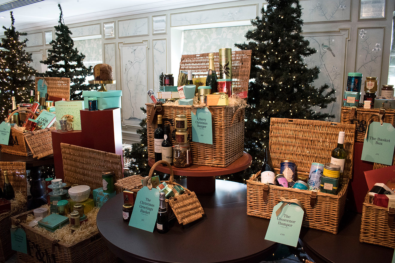 Fortnum and Mason Christmas Hampers and gifts