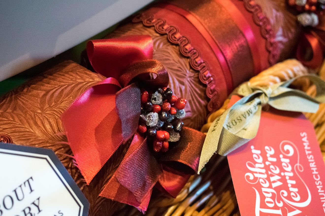 Fortnum and Mason Christmas Crackers red