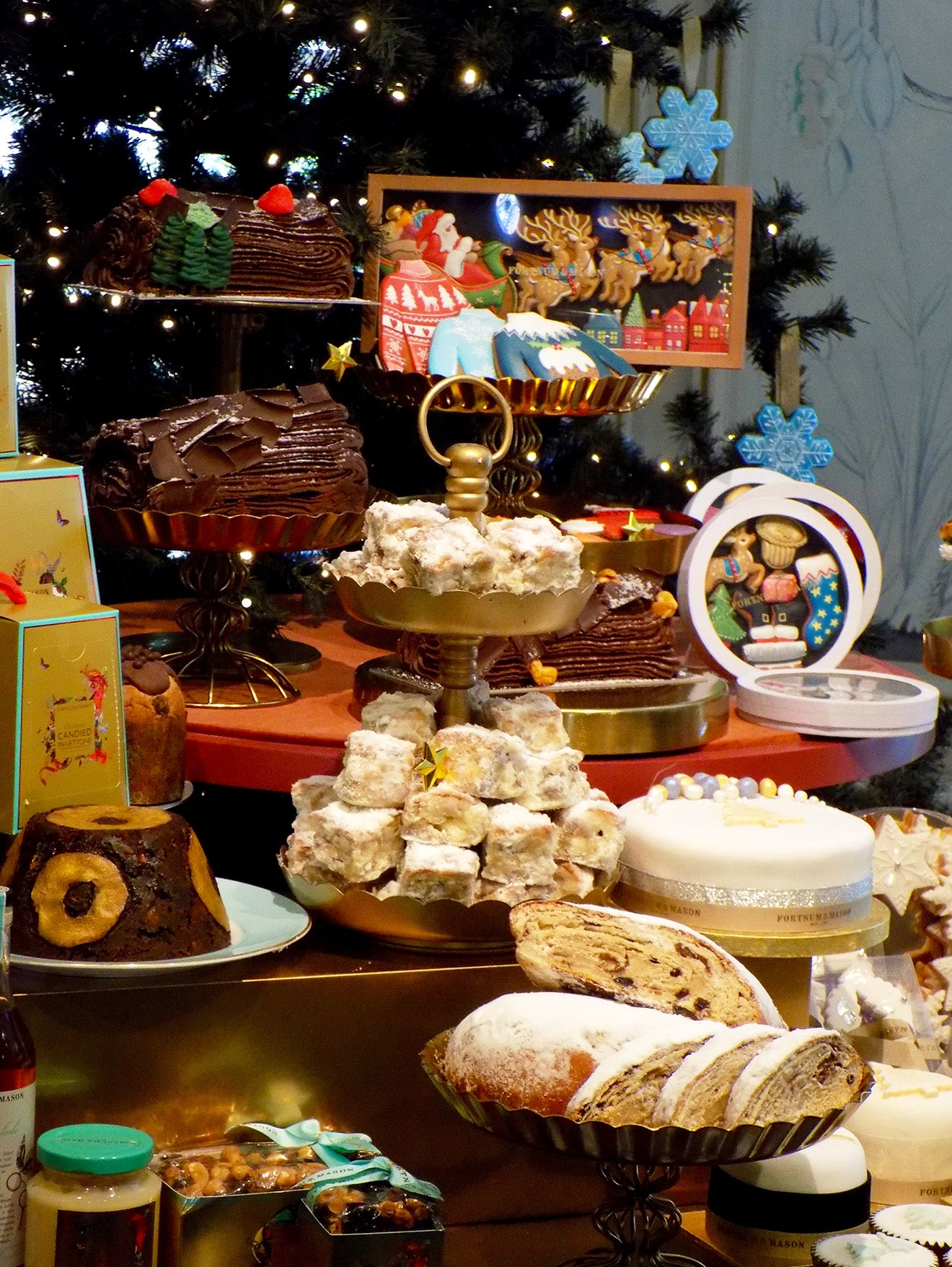 Fortnum & Mason Christmas food