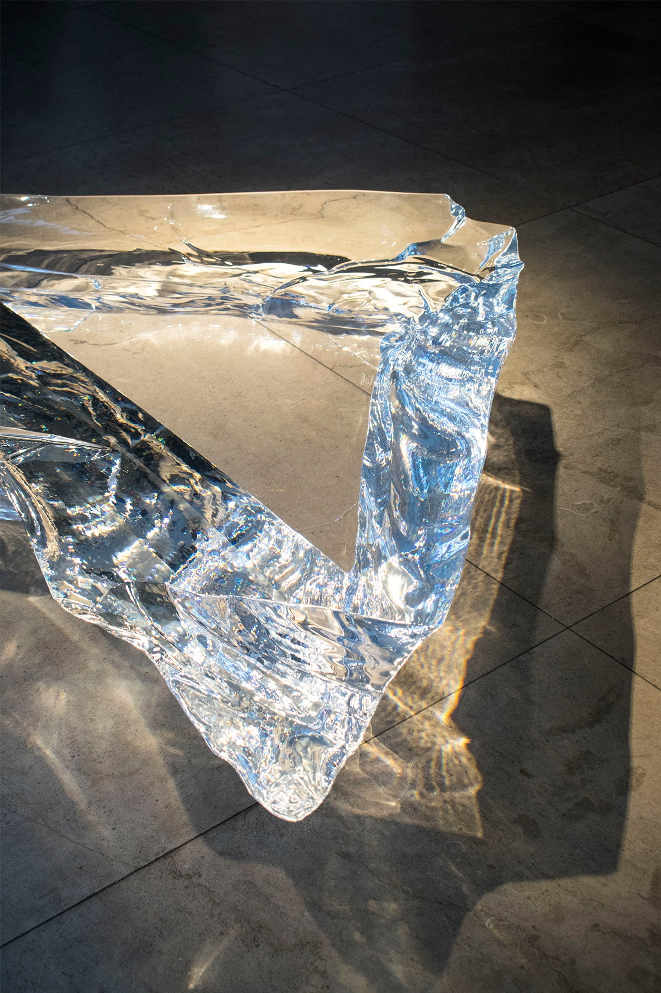 Fredrikson Stallard Intuitive Gestures David Gill Gallery Antartica Table