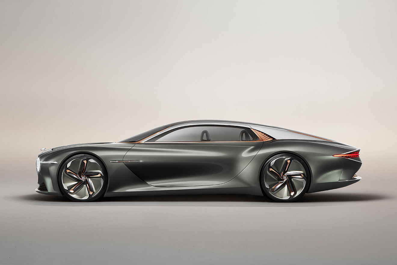 Gainsborough design the fabric for the Bentley EXP 100 GT concept car to celebrate their centenary