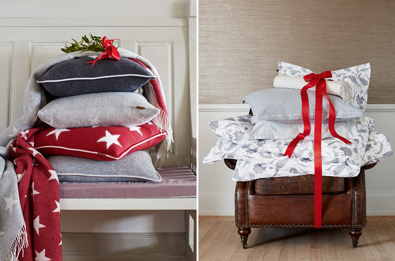 Gant Home holiday cushions