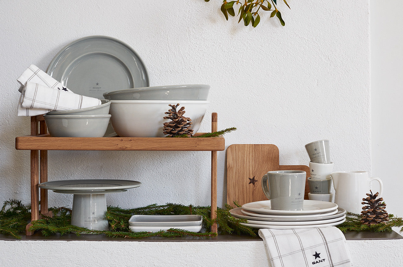 Gant home kitchen and crockery collection