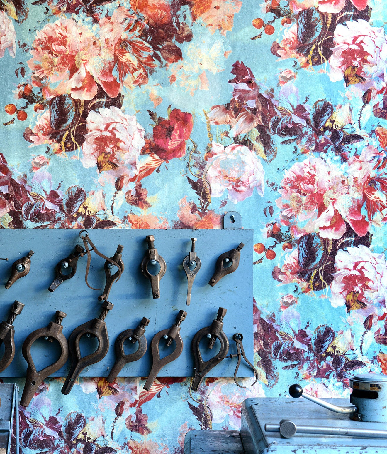 Gaultier floral wallpaper collection