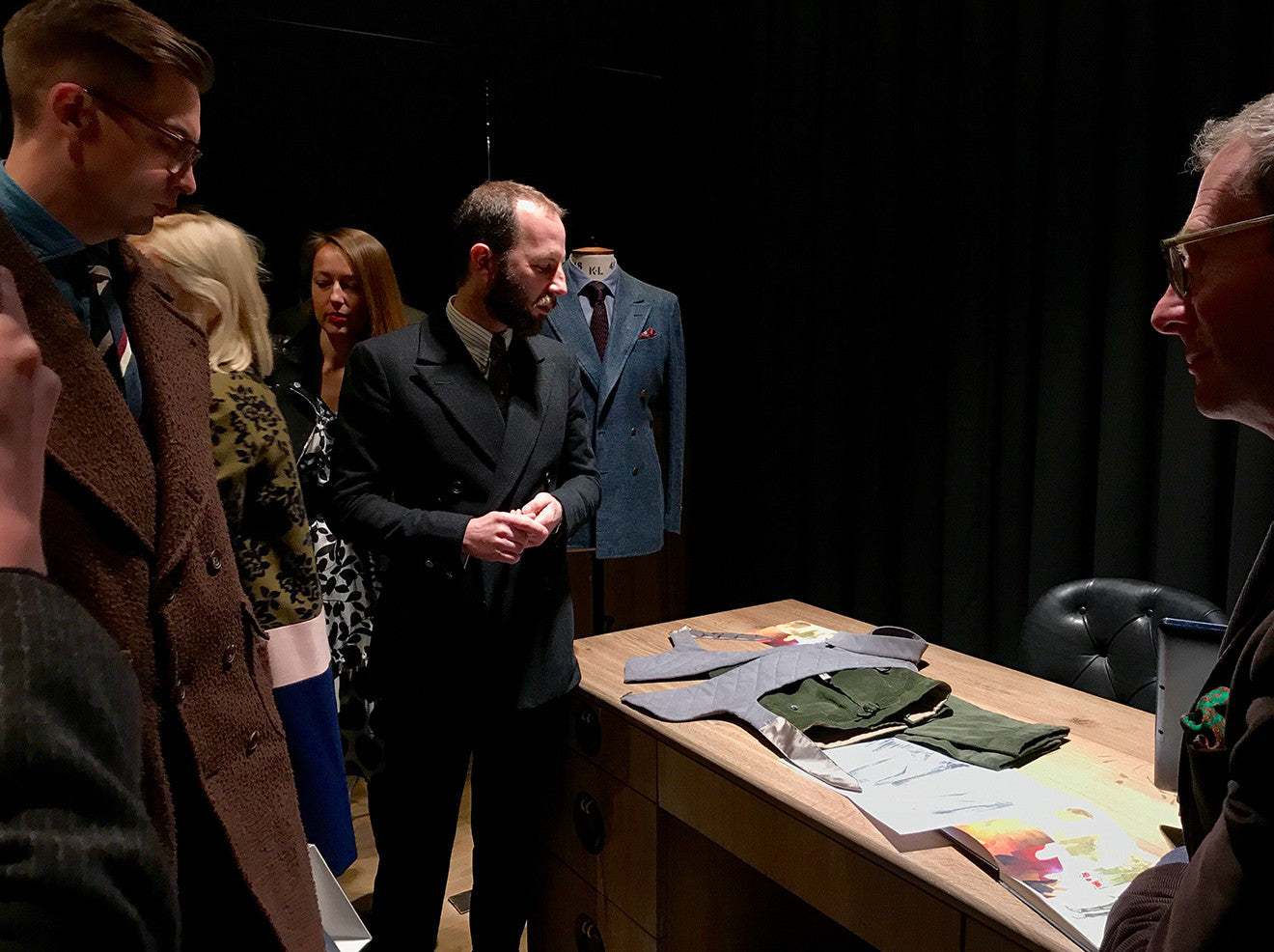 Gieves and Hawkes Savile Row Tour