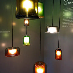 Modern Glass pendant lighting Designjunction