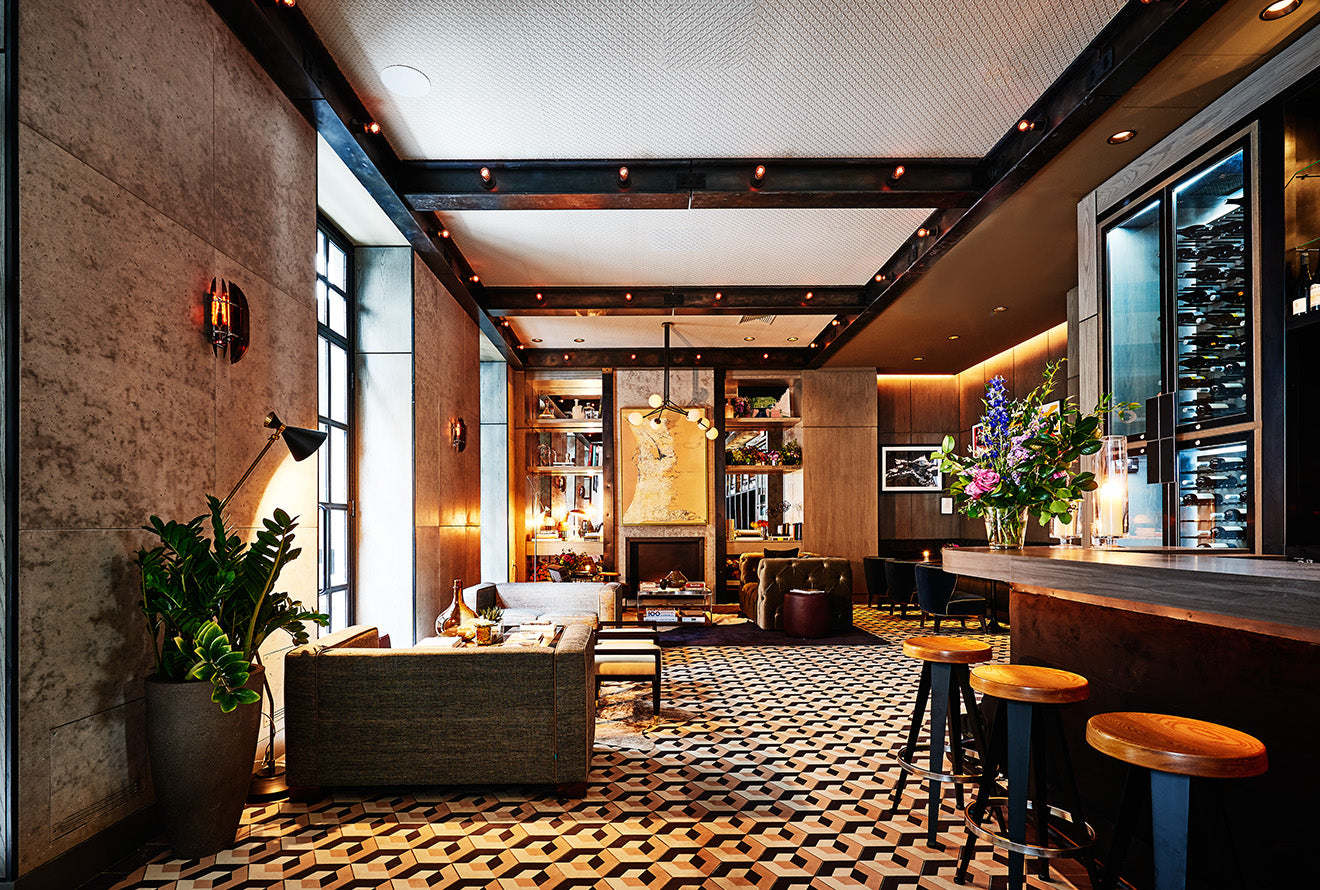 Sixty soho hotels new york interior design review for Design hotel new york