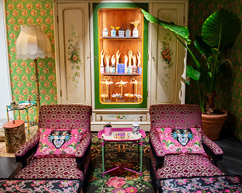Gucci Decor collection showcasing at Milan Design week