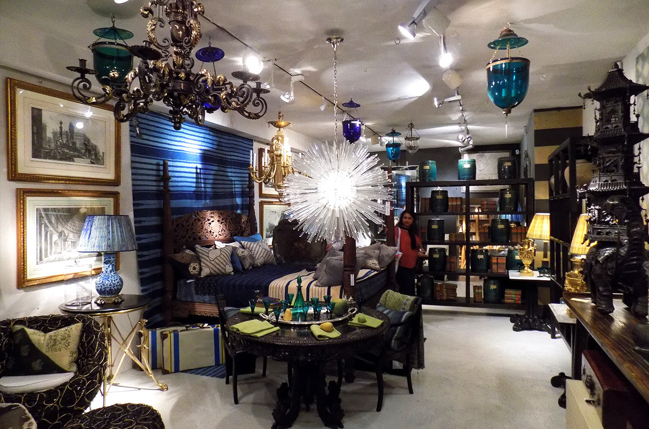 guinevere antiques showroom London Kings Road