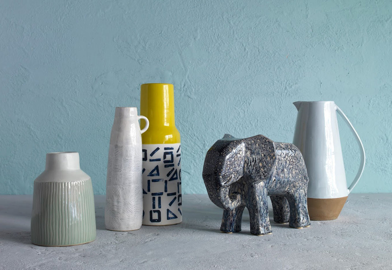 Habitat New Season collection ceramic vases and home accessories