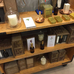 Haeckles products and display at Selfridges Multiplex