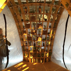 Haeckles fragrance chamber at Multiplex Tom Dixon