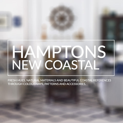 Hamptons New Coastal Interior Design Inspiration