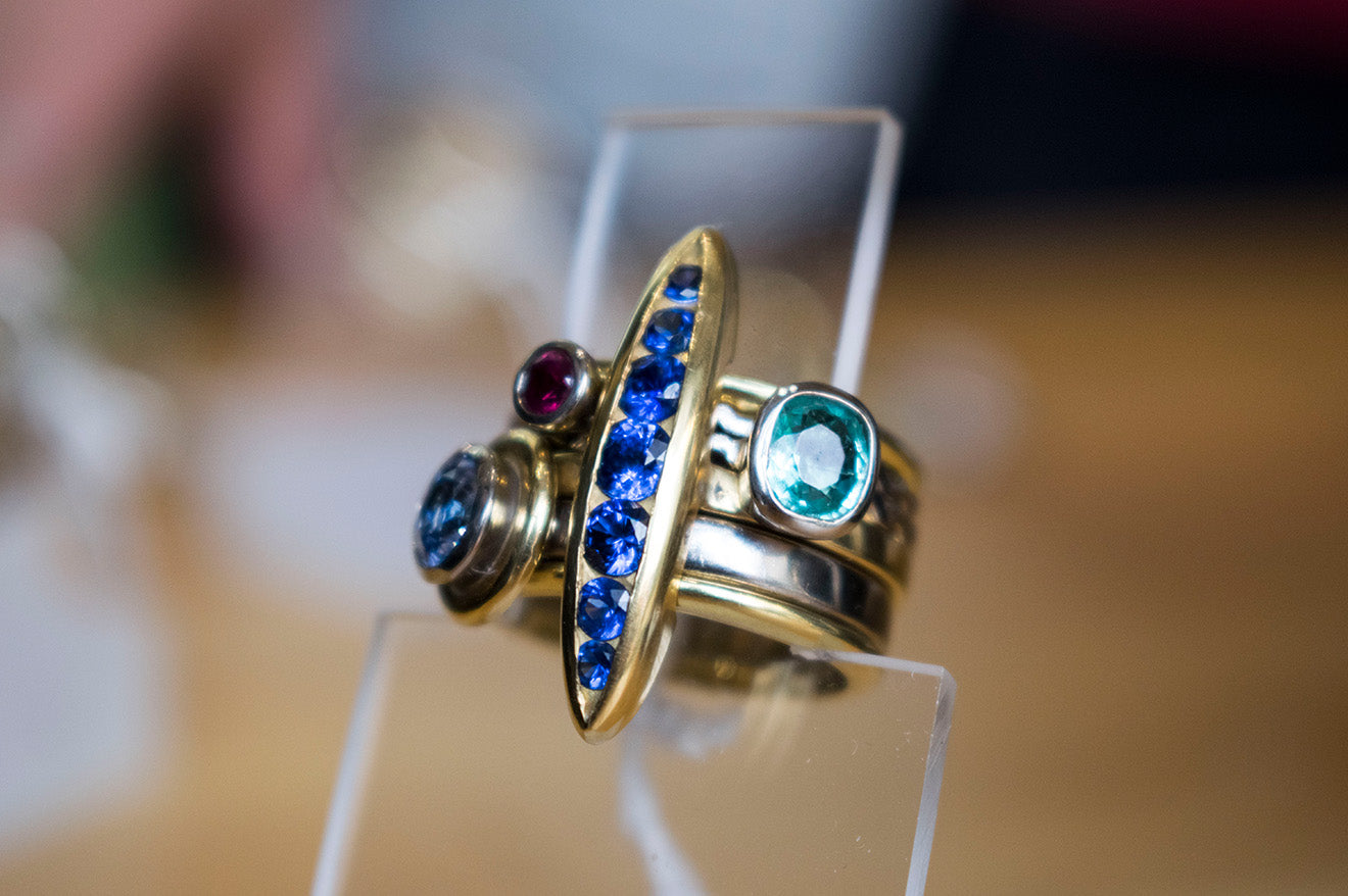 Jewellery designs from Graeme McColm