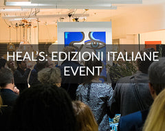 Heals Italian Furniture Event