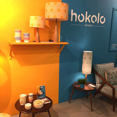 Hokolo stand at Designjunction London Design Festival