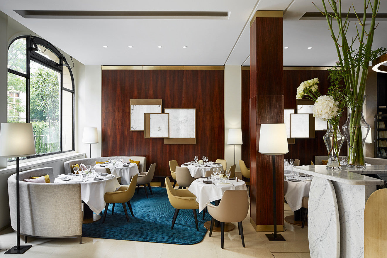 Luxury restaurant design Paris Hotel Montalembert