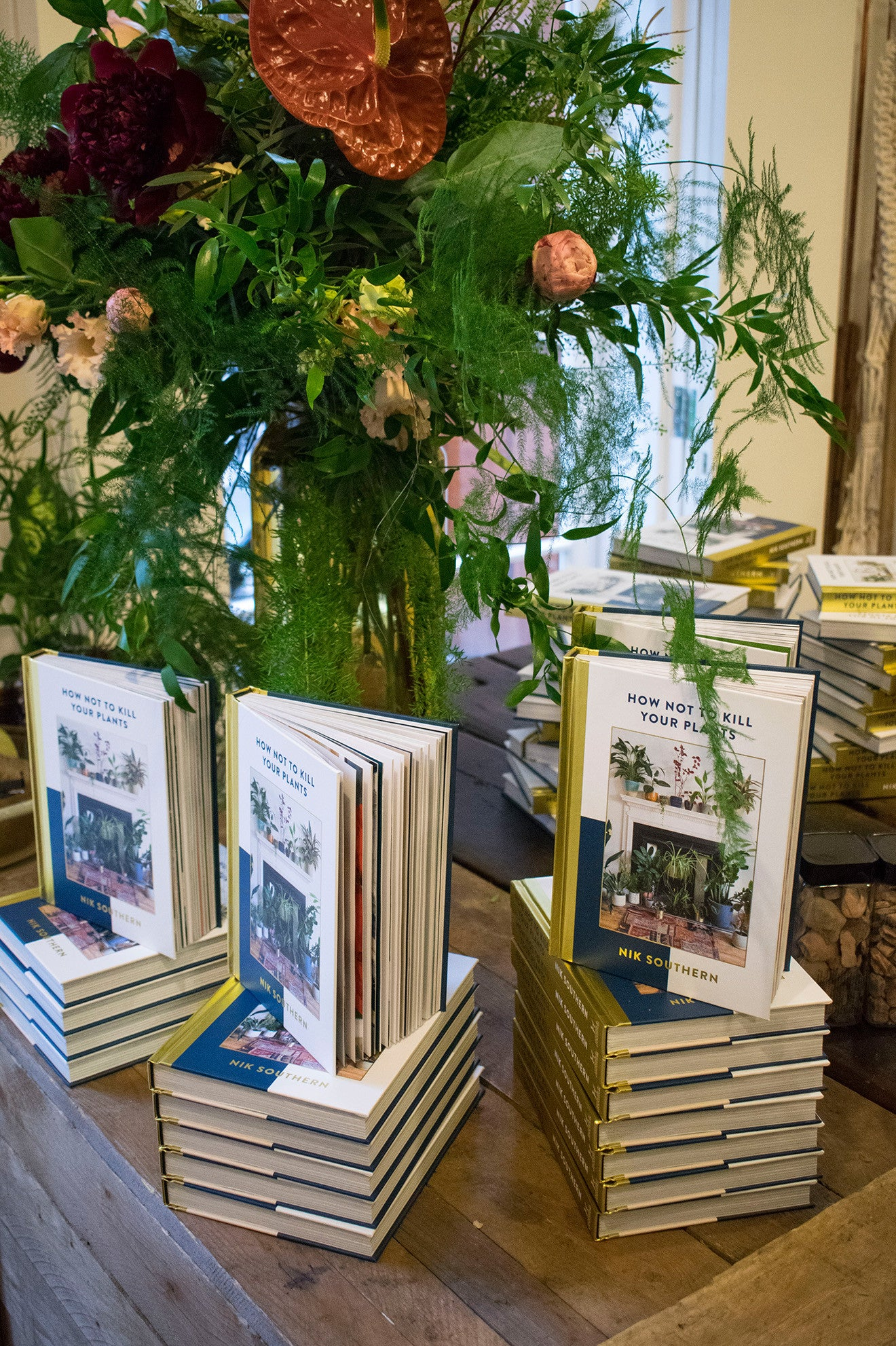 How not to kill your plants book launch