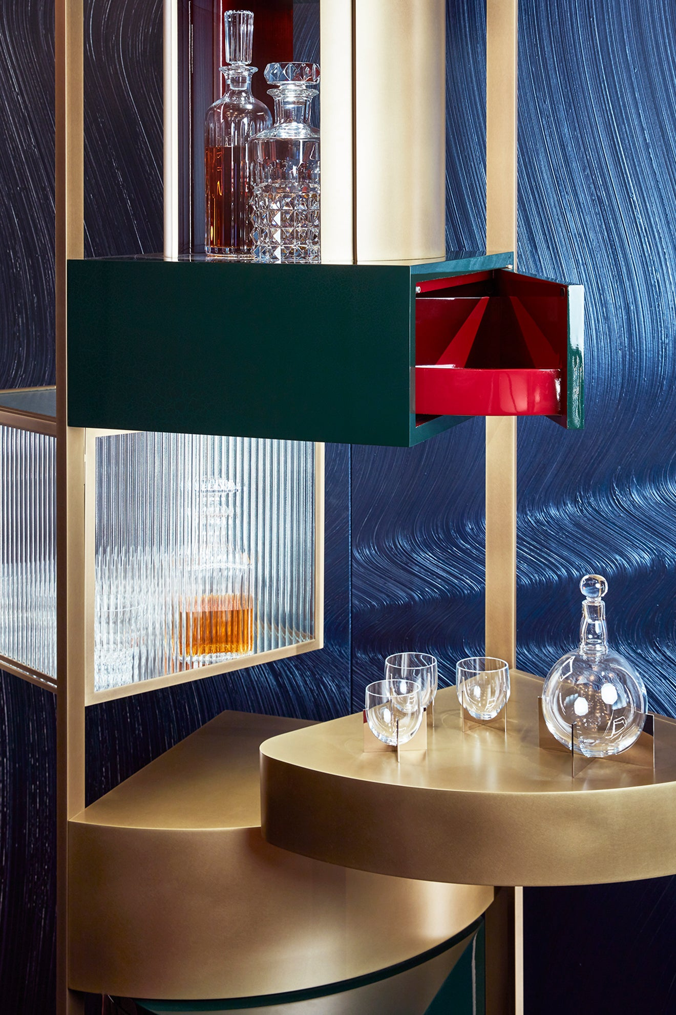 Humbert & Poyet Architecture design the Nocturnal Smoking Room for Maison et Objet