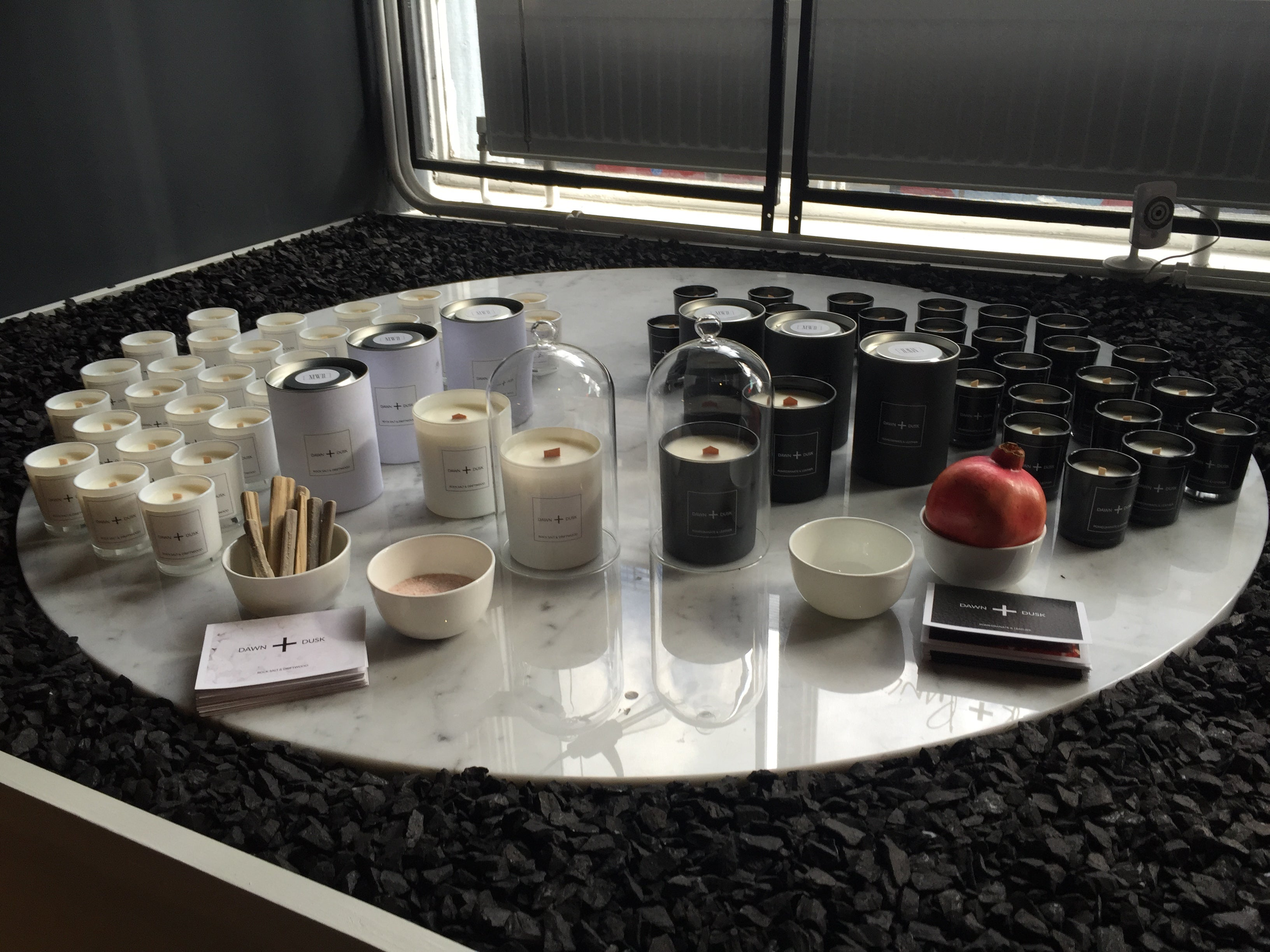 Dawn and Dusk luxury candle launch London Bridge