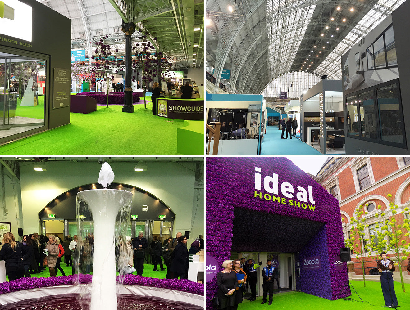 Inside the Ideal Home Show 2016 at Olympia