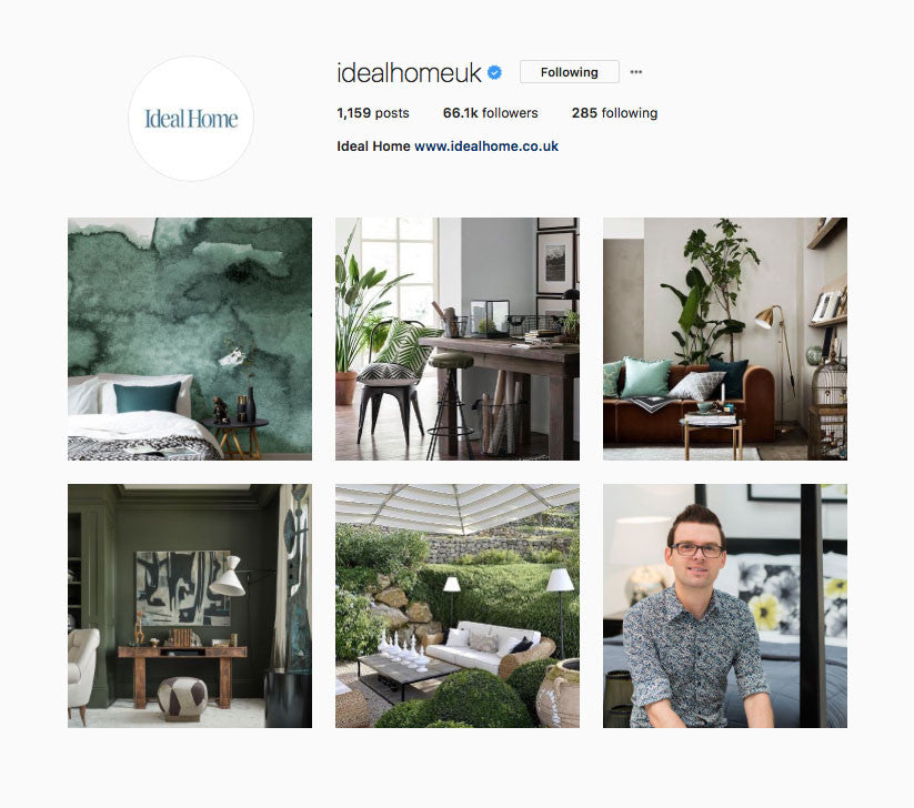 Ideal Home Instagram Takeover Martyn White Designs