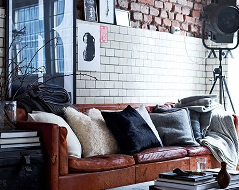 Industrial home decorating inspiration blog