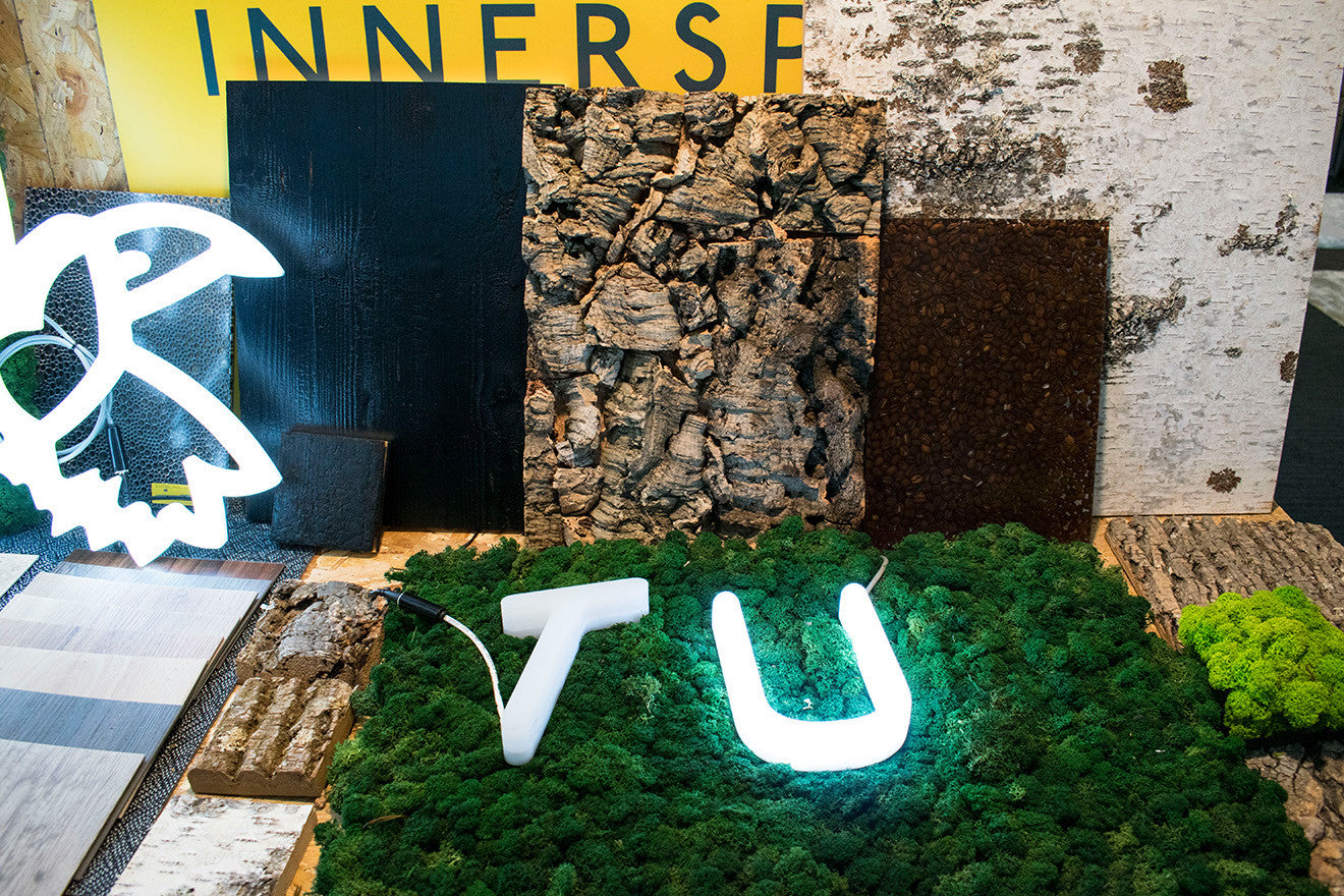 Innerspace Cheshire and Unibox lighting Surface Design Show